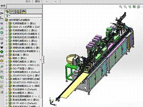 自动焊接流水线带治具板 zdwm2001 solidworks格式 3D图纸 三维模型