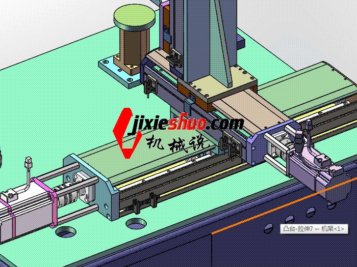 三轴焊接机 zdwm2003 solidworks格式 3D图纸 三维模型