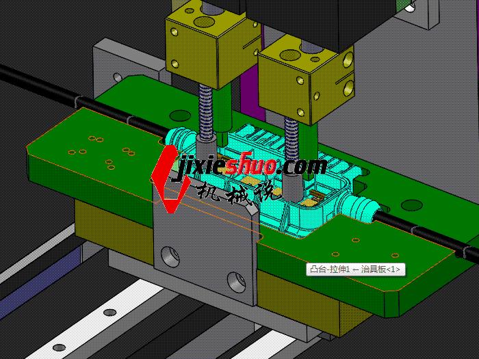 电阻焊机 双头焊接机 带工程图 zdwm2004 solidworks格式 3D图纸 三维模型