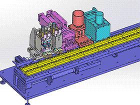 自动焊刚珠机 zdwm2005 solidworks格式 3D图纸 三维模型