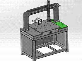 4轴焊接机 zdwm2006 solidworks格式 3D图纸 三维模型