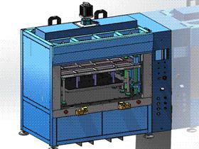 双丝杆伺服热铆焊接 3D模型 ZDWS1002 solidworks  3D图纸 三维模型