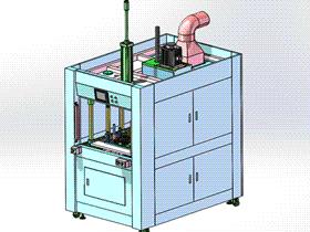 多工位伺服热熔焊接 3D模型 ZDWS1003 solidworks  3D图纸 三维模型