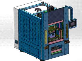 塑料对接焊接设备 3D模型 ZDWS1004 solidworks  3D图纸 三维模型