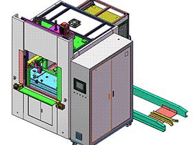 通用热板换模塑料对接焊接设备 3D模型 ZDWS1005 solidworks  3D图纸 三维模型